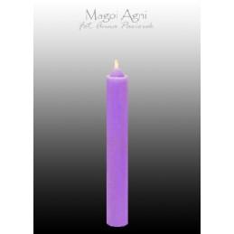 Świeca z wosku - fioletowa...