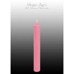 Świeca z wosku - różowa 9 x...