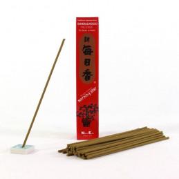 Japońskie kadzidełka MS SANDALWOOD - Łagodny zapach drzewa sandałowego
