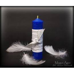 Świeca Archanielska Michael - niebieska