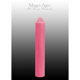 Świeca z wosku różowa 10 x...