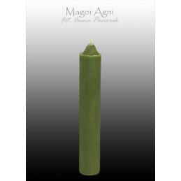 Świeca z wosku zielona 10 x...