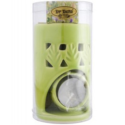 Kominek aromaterapeutyczny z olejkiem - pistacjowy