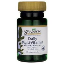Daily Multi- Vitamin 30 kaps. Swanson