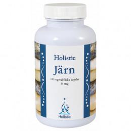 Holistic Järn / Organiczne związki żelaza (100 kapsułek)