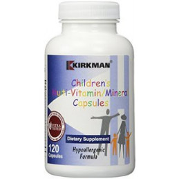 Children's Multi Vitamin/Mineral Hypoall.- 120 kaps. multiwitaminy Kirkman