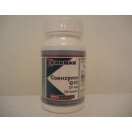 Coenyme Q 10 25mg (Hypoallergenic) 100 kaps. Kirkman