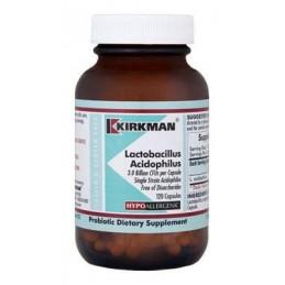 Lactobacillus Aciddophilus (Hypoallergenic) 120kaps. Kirkman