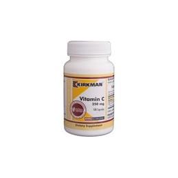 Vitamin C 250mg (Hypoallergenic) 100 kaps. Kirkman