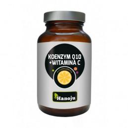 Koenzym Q10 + Witamina C (90 kapsułek wegetariańskich) Hanoju