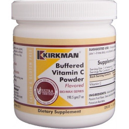 Buffered Vitamin C powder-Flavored 198,5 Kirkman