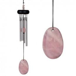 Dzwonek wietrzny ROSE QUARTZ (Różowy kwarc) Precious Stones