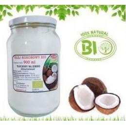 BIO Olej kokosowy 900 ml na zimno tłoczony AGNEX