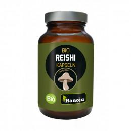 BIO Reishi 30% ekologiczny ekstrakt 300mg (90 kapsułek) Hanoju