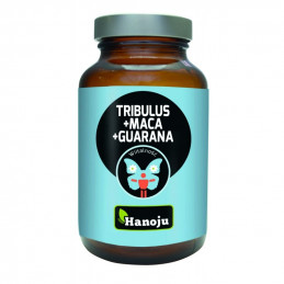 Tribulus + Maca + Guarana 500mg (90 kapsułek) Hanoju