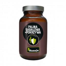 Palma Sabalowa ekstrakt 250mg + Pokrzywa ekstrakt 200mg (90 kapsułek) Hanoju