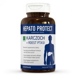 Hepato Protect-karczoch+rdest ptasi 60 kaps. Wątroba A-Z MEDICA