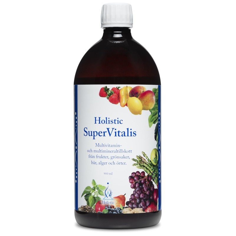 Holistic SuperVitalis Multiwitamina + Minerały + Owoce + Zioła (900 ml)