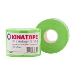 KINATAPE Kinesio Taping (5m x 5cm) zielona
