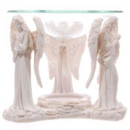 Podstawka pod świeczki - modlące siię Anioły ANG116 wys. 10 cm, śr. 12 cm Puckator