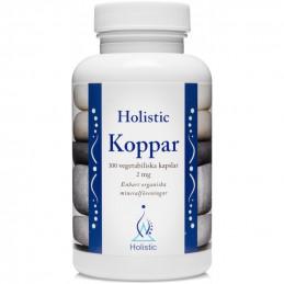 Holistic Koppar Miedź / Organiczne związki miedzi (100 kapsułek)