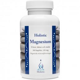 Holistic Magnesium Magnez / Organiczne związki magnezu (100 kapsułek)