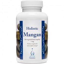 Holistic Mangan / Organiczne związki manganu (100 kapsułek)