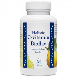 Holistic C-vitamin Bioflav / Witamina C z bioflawonoidami (90 kapsułek)