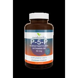 P-5-P koenzymatyczna witamina B6 50mg (120 kapsułek)