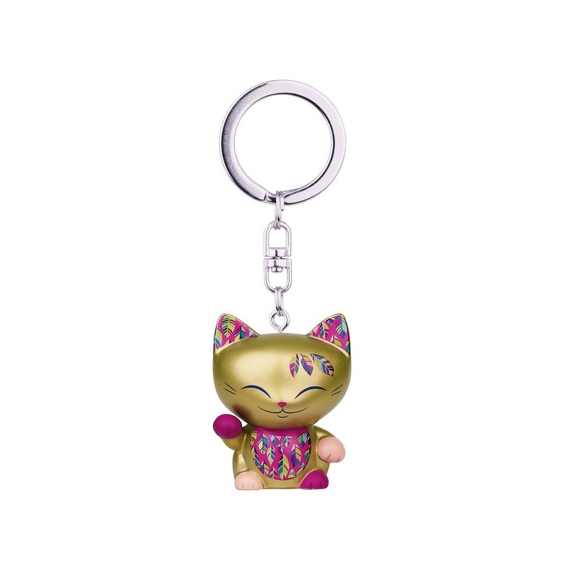 Brelok MANI the lucky CAT / Złoty kotek na szczęście (MLCK037)
