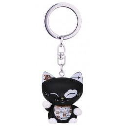 """Brelok MANI the lucky CAT / Czarny kotek na szczęście """"STRZAŁA"""""""