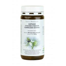 Kapsułki z olejem z czarnuszki siewnej 500 mg - 180 kap. Sanct Bernhard, D73342 Bad Ditzenbach (01.2019)