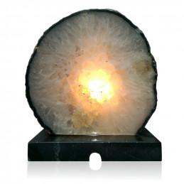 Lampa z Agatu na marmurowej podstawie (4 kg)