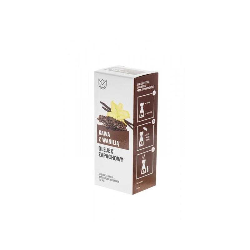 KAWA z WANILIĄ - Olejek zapachowy (12ml)