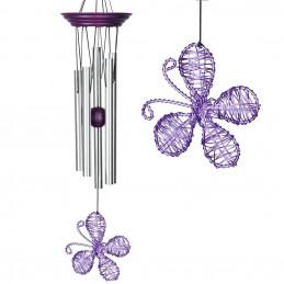 Dzwonek wietrzny PURPLE Isabelle's Dancing Butterfly™ Woodstock Chimes®