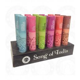 Tradycyjne kadzidła w opakowaniu w kształcie tuby, Lawenda, 25g Song of India 3736