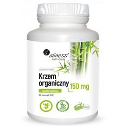Krzem organiczny 150 mg (100 kaps. VEGE) Aliness (09.2020)