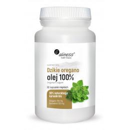 Dzikie oregano olej 100% (90 kaps. VEGE) Aliness