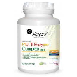 MULTI Enzyme Complex PRO (90 kaps. VEGE) Aliness