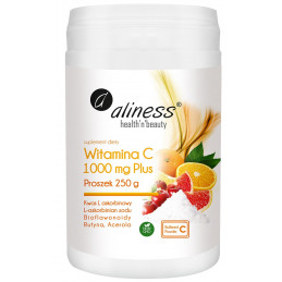 Witamina C 1000 mg buforowana Plus (250 g) Aliness