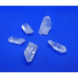 Kryształ górski szpic - zestaw 5 szt kamieni