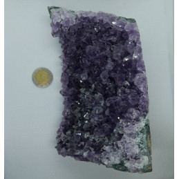 Ametyst geoda 1,39 kg; 16 x 11 x 7 cm