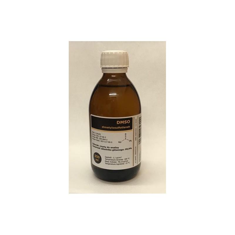 DMSO dimetylosulfotlenek CZDA 250 ml