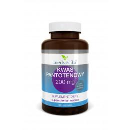 Kwas Pantotenowy 500 mg (120 kapsułek) Medverita