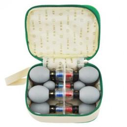 Bańki Haci gumowe z magnesem - 12 szt w etui