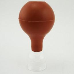 Bańka szklana z gruszką śr. 2,5 cm - do masażu