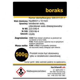 Boraks - tetraboran sodu 500 mg