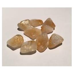 Cytryn - kamień bębnowany 20 x 15 mm