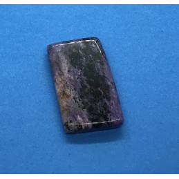 Czaroit płytka polerowana - waga 25 g - 44 x 26 x 6 mm