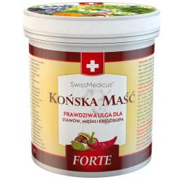 Szwajcarska Końska Maść Rozgrzewająca FORTE (250 ml) Herbamedicus (07.2022)
